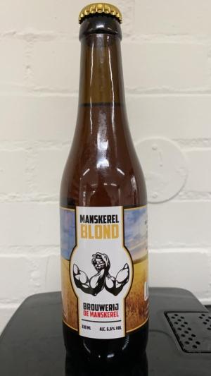 manskerel blond bier